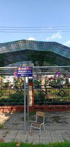 Liên đội thực hiện công trình măng non chào mừng 80 năm ngày thành lập Đội TNTP Hồ Chí Minh Năm học 2020-2021. Gồm 70 chậu lan xinh lung linh.